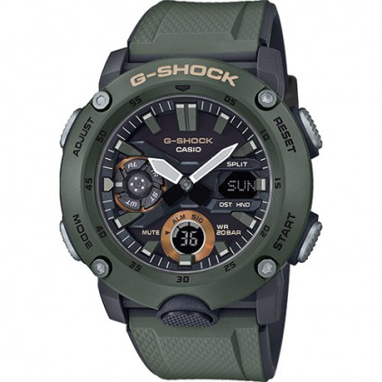 Casio herre G-SHOCK CARBON GA-2000-3AER