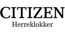 Citizen herreklokker
