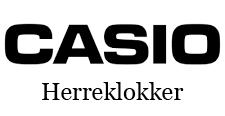 Casio herreklokker